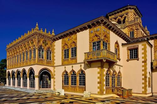 Ca' d'Zan Mansion, John and Mable Ringling Museum of Art, 5401 Bay Shore Rd, Sarasota, Florida, U.S.A.