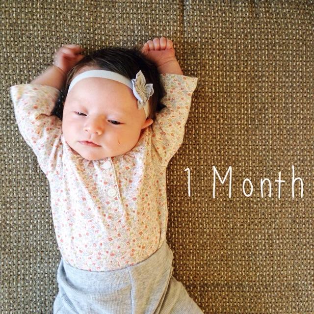 Elle Evergreen: 1 month