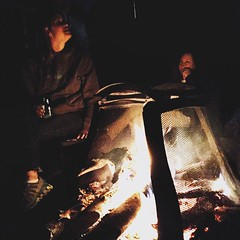 We basically live our lives bonfire to bonfire. #DogtownLife