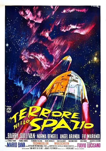 Cartell de Terrore nello spazio
