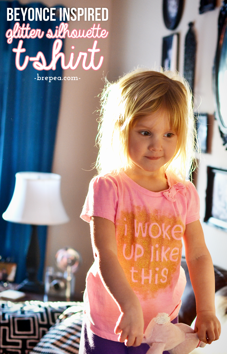 Create this easy customized DIY kids t-shirt inspired by this Beyonce quote with just a few supplies. You could create any graphic shirt!
