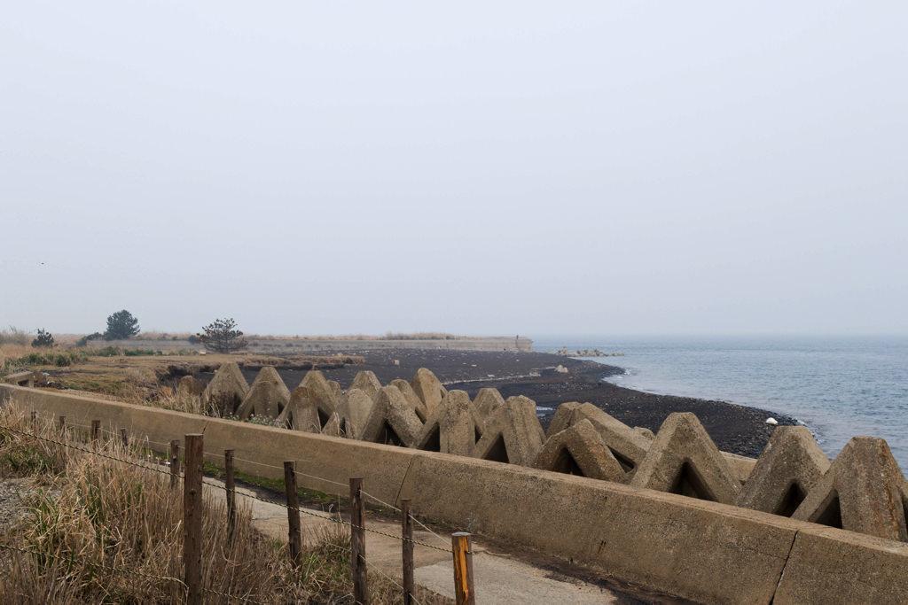 池島の海岸