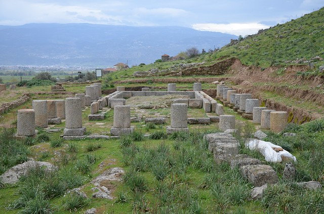 Doric Temple of Zeus Chrysaoreus, built in the 3rd century BC, Alabanda, Caria, Turkey