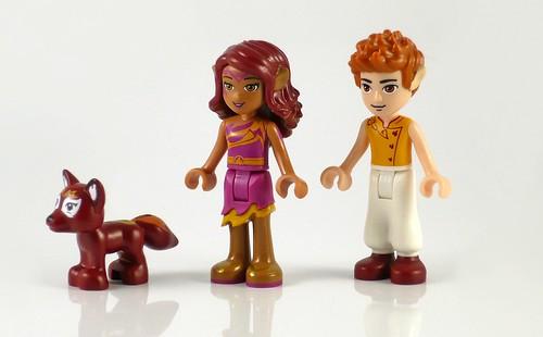 LEGO Elves 41074 Azari and the Magical Bakery figures02