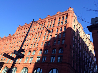 Puck Building with Afternoon Shadows - NYC