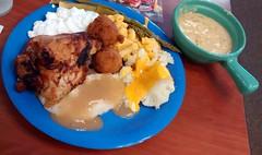 Golden Corral Buffet Plate.