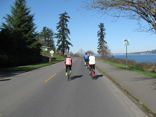 SIR Spring Populaire 2015 - Riding on Lake Washington