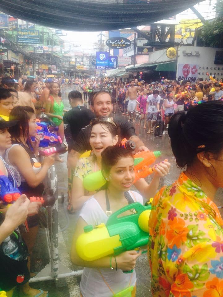 Songkran Thai New Year // Koh Samui // Travel // KWB