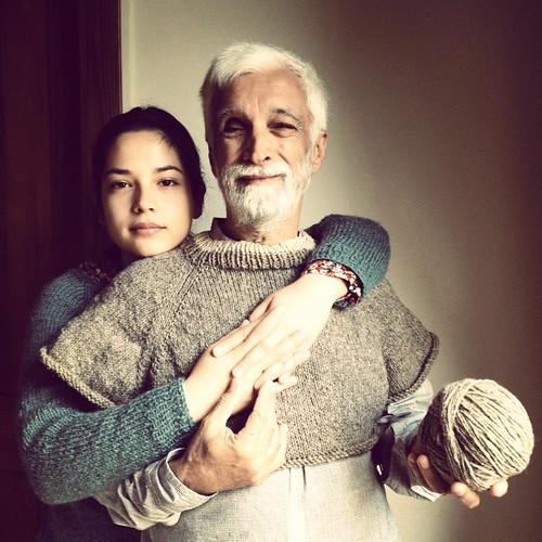 Tal filha tal pai #tricot #knitting