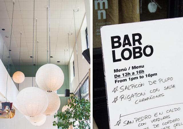 Bar Lobo cheap lunch deal Barcelona