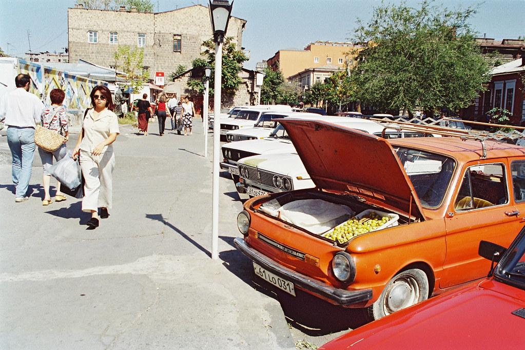 Arménie - Tomber sous le charme - Faire ses courses
