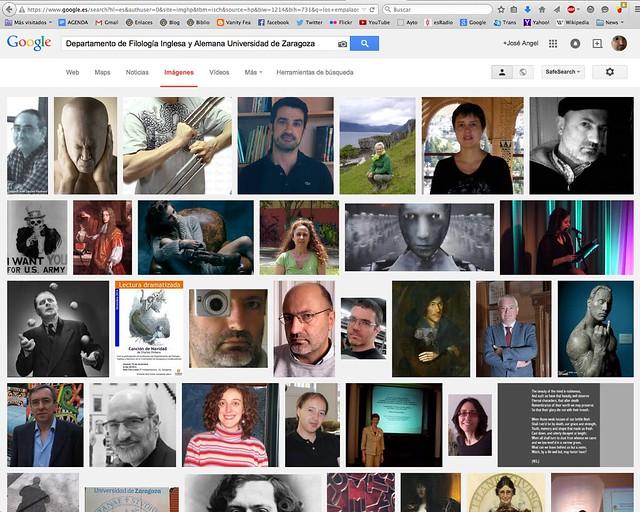 Lo que dice Google Images
