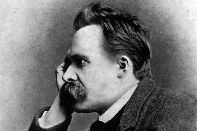Friedrich Nietzsche by Gustav Schultze, 1882. Image courtesy WikiCommons