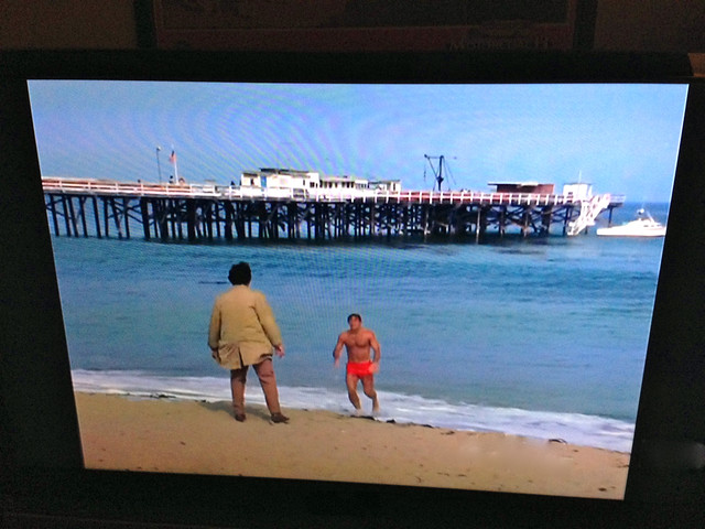 Paradise Cove Pier, 1971; Columbo