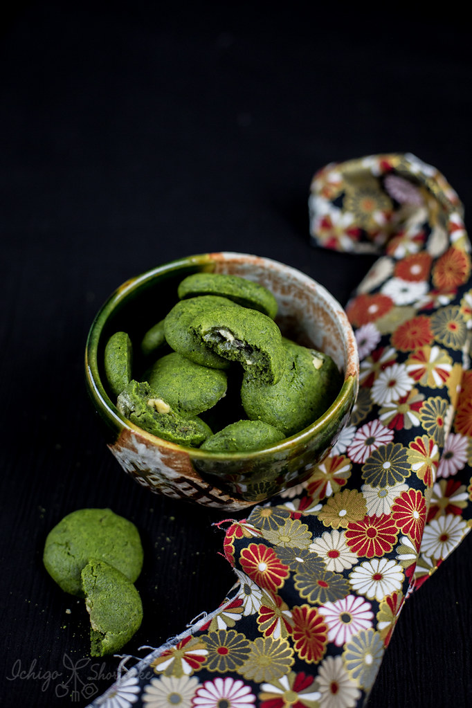Matcha green tea soft & chewy cookies – Country Ma'am style