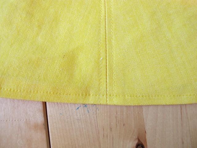 Striped Cabernet Cardigan + Yellow Hollyburn