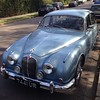 My dream car Jaguar Mark 2 (3.4) powder blue as once driven by Nat Gee #classiccar #car #jag