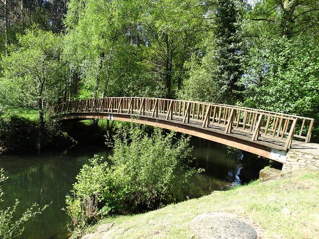 Puente en el parque del Eume