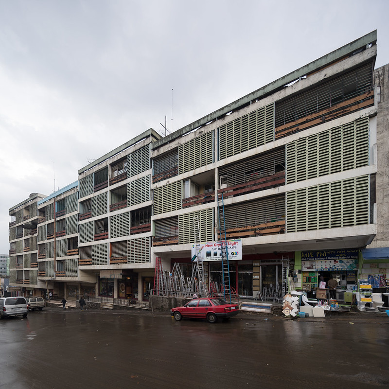 A Mixed-Use Building