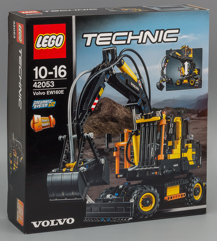 42053 volvo ew160e lego technic mindstorms model. Black Bedroom Furniture Sets. Home Design Ideas