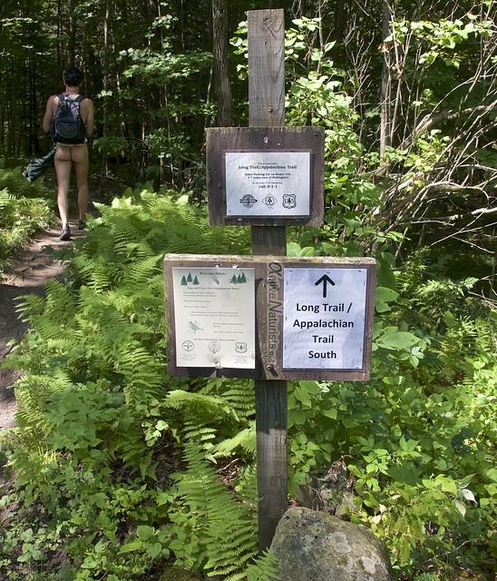naturist 0000 Appalachian trail, Vermont, USA