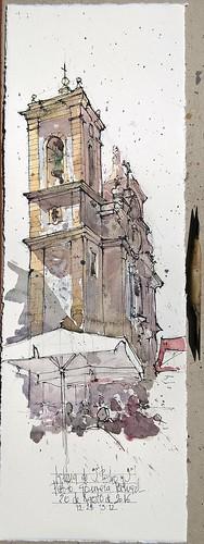 Iglesia de San Pedro y San Pablo. Gouveia. Portugal