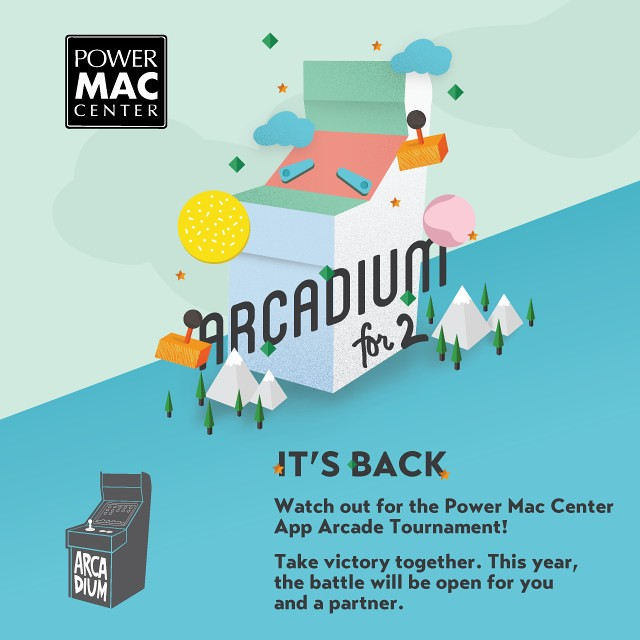 Powermac Center Arcadium for 2