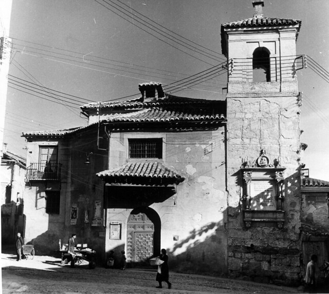 Iglesia del Salvador en 1952. Fotografía de Erika Groth-Schmachtenberger © Universitätsbibliothek Augsburg