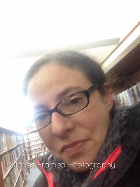44. | library selfie.