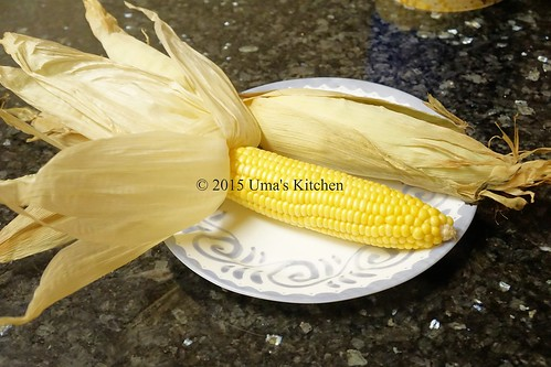 Oven roasted corn on the cob 1
