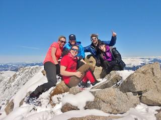 Mt Massive Summit Group Shot