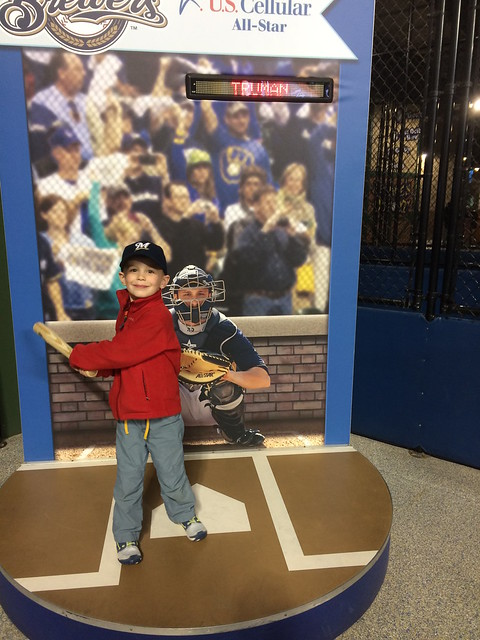 Brewers game Truman