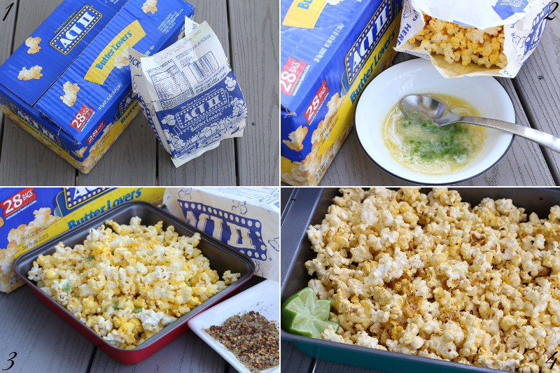 Margarita Popcorn recipe, steps, snack, shop, bias