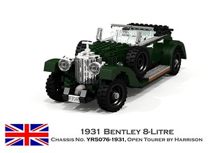 Bentley 8-Litre, 1931 Open Tourer by Harrison
