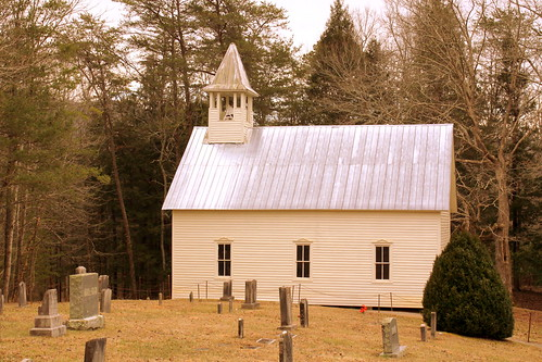 Cades Cove Methodist Church and Cemetery