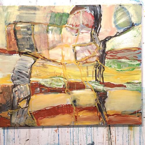 #painting #acrylic on #canvas #art #contemporaryart #artgallery #abstract // #malerei #acryl auf leinwand #kunst