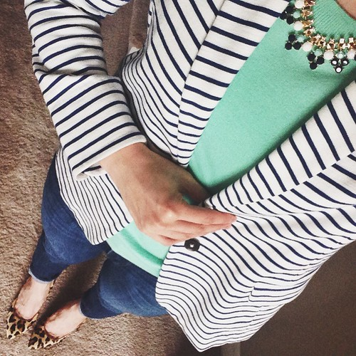 spearmint + stripes
