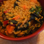 Lentil, Chard and Sweet Potato Curry