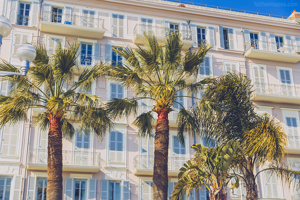 Typical French Riviera architecture