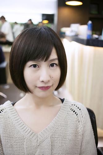 東區剪中短髮SAM-2
