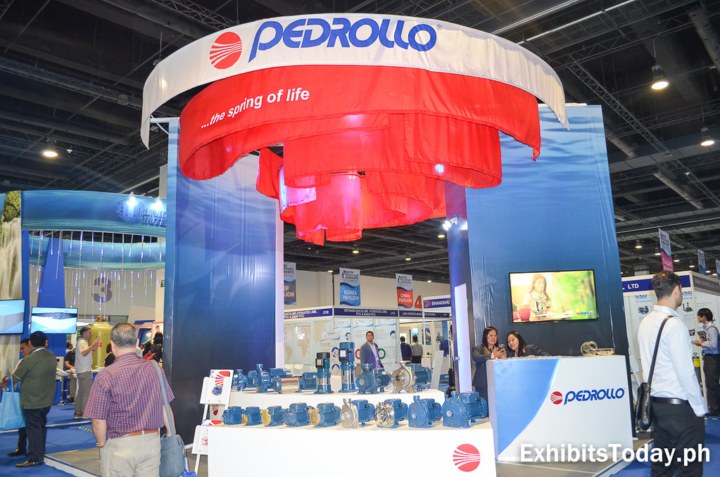 Pedrollo Trade Show Display