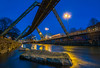Blue hour in Wuppertal