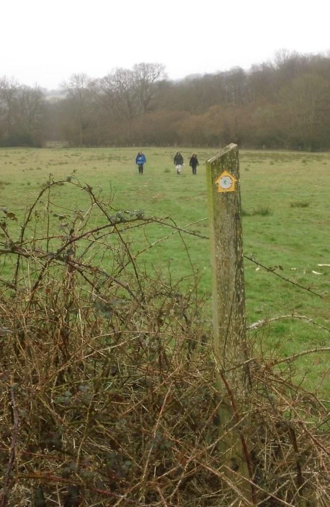 Approaching Hartfield up a gentle slope