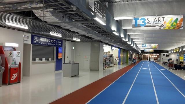 成田機場第三航廈入口走道 (二)