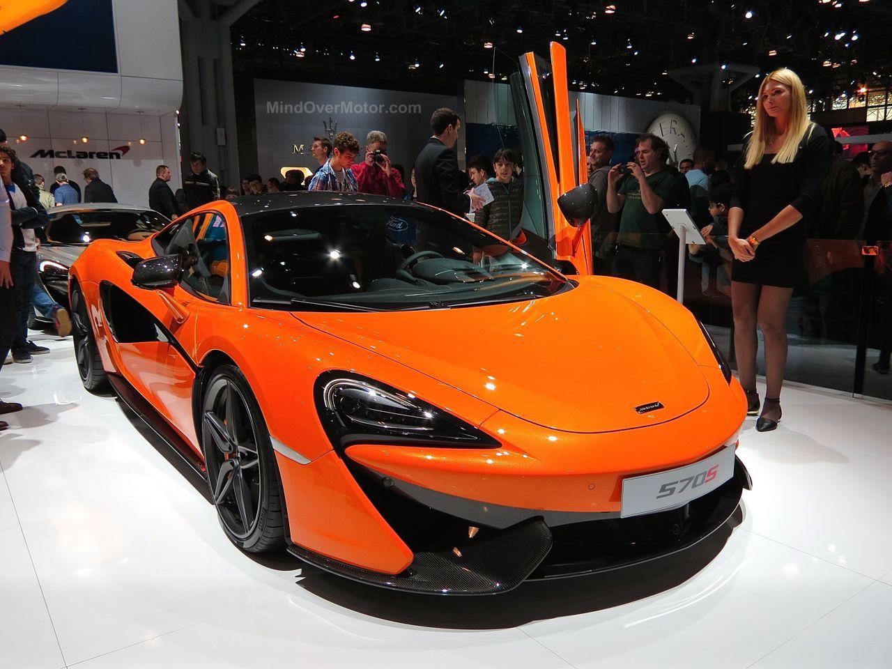 NYIAS 2015 McLaren 570S