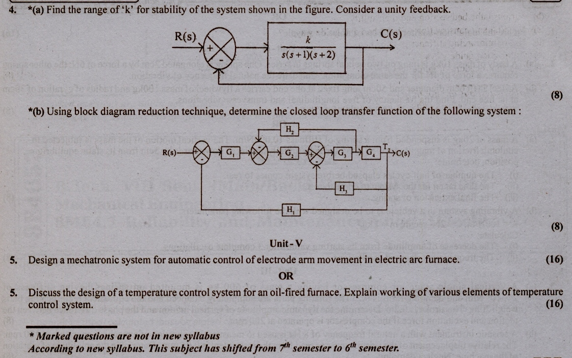 RTU: Question Papers 2013 - 7 Semester - ME - 7E4066