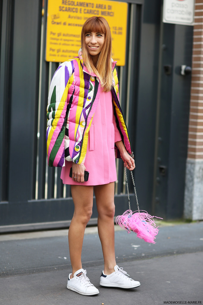 Veronica Giomini, Street style at Milan Fashion Week