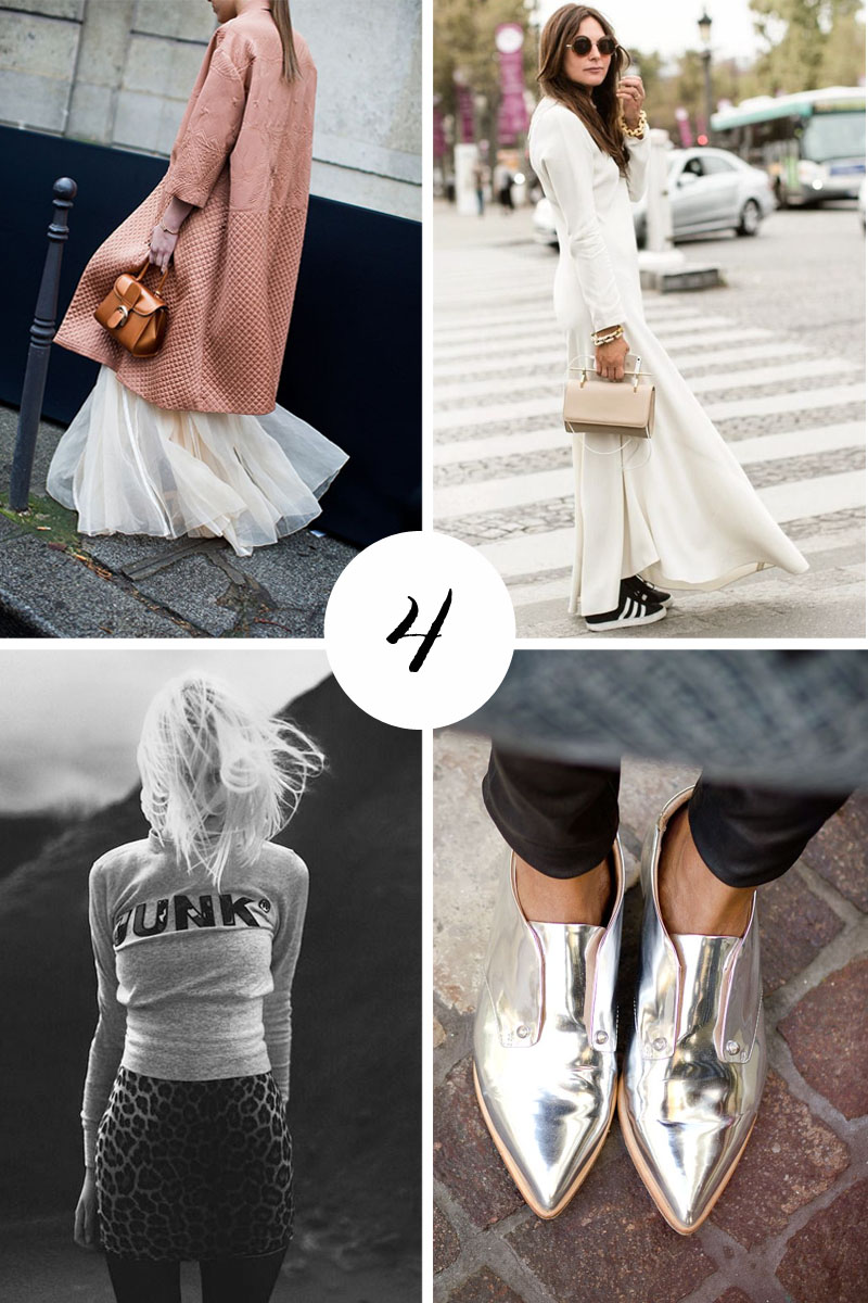 4 fashion trends I never tire of
