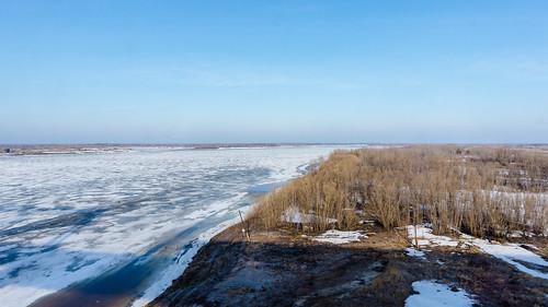 дорога природа весна реки хантымансийскийрегион