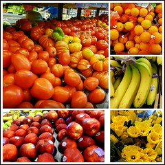 Colourful Grocery Collage in Toronto